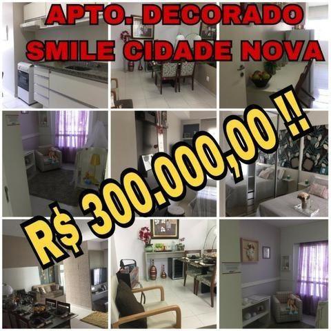Mega Promoção Smile Cidade Nova Apto.3 Dormitórios Mobiliado e Novo 300mil