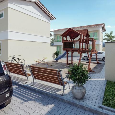 Lindas casas Duplex 3 quartos em Iparana