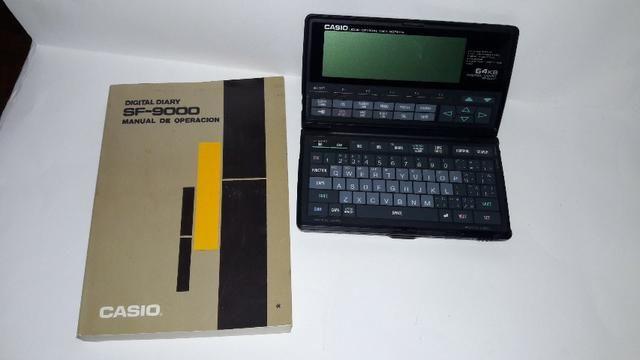 Agenda Casio Sf9000 - Digital Diary- 64 Kb - Peça Vintage