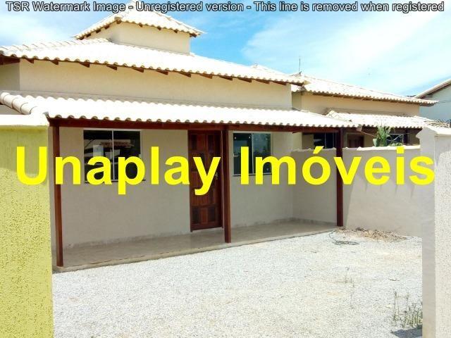 Cód: unaplay 206 Casa Nova com 2 quartos, em Unamar perto da praia e shopping - Unamar
