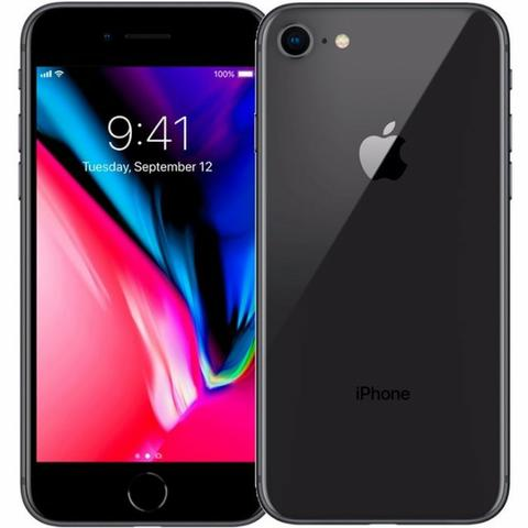 Apple Iphone 8 64gb Cinza Espacial Lacrado + Garantia 1 Ano