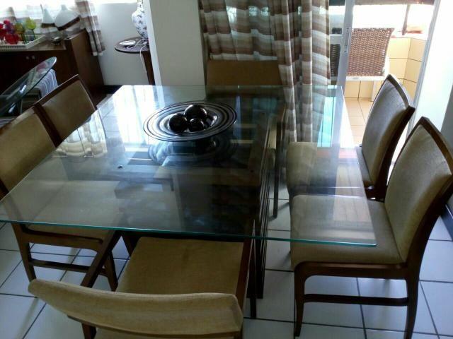 Imperdivel,Conjunto de mesa com 6 cadeiras por apenas 2.500,00