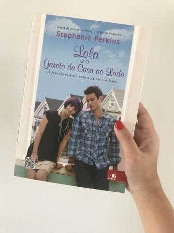 Livro Lola e o Garoto da Casa ao Lado - Stephanie Perkins - R$10
