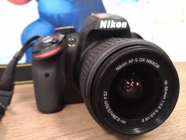 Camera Digital Dslr Nikon D3200 24 Mega Pixel + Lente 18-55mm