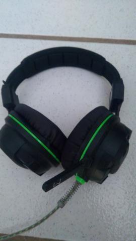 Fone de ouvido headphone gamer Multilaser warrior