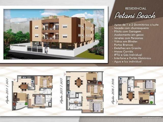 Rbj- Apartamento de 2 Dorms c/ 1 suíte bem Localizado