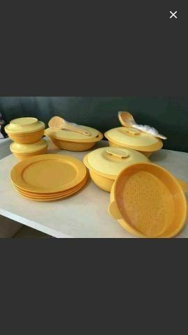 Kit Tupperware para Servir