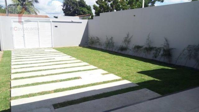 Casa Eusébio 03 quartos amplo terreno - Foto 5