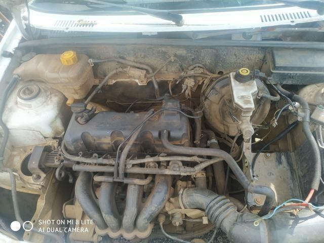 Motor completo Ford Courier eco sport e fiesta 1.6 Zetec 2006 Gasolina motor completo