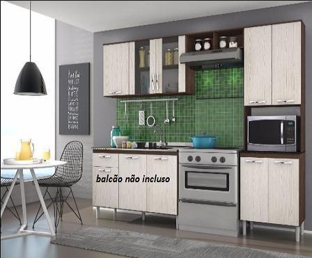 Belissimo Armario Aerio Compacto Perfeito Para Apartamento ou Cozinha Pequena 499,00 - Foto 2
