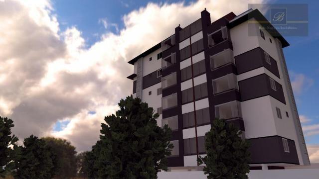 Apartamento com 2 dormitórios à venda, 55 m² por R$ 182.524 - Santa Catarina - Joinville/S - Foto 10