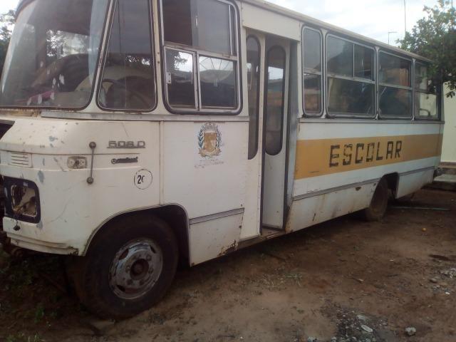 Acessórios para micro-ônibus 608 com documentação
