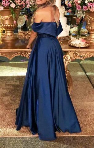 60313caaed3ed Vestido azul royal para formandas ou madrinhas - Roupas e calçados ...