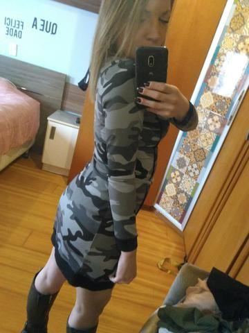 Vestido camuflado - Foto 3