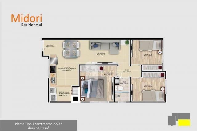 Apartamento com 3 quartos no afonso pena - são josé dos pinhais/pr - Foto 8