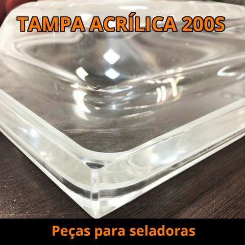 Tampa Acrílica Seladoras a Vácuo - Foto 4