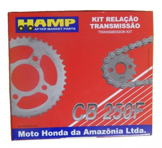 Kit Transmissão Hamp Honda Twister Cb250f 2016/2020 - Foto 2