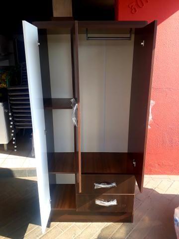 Guarda-roupa 3 portas Novo entrega grátis - Foto 2
