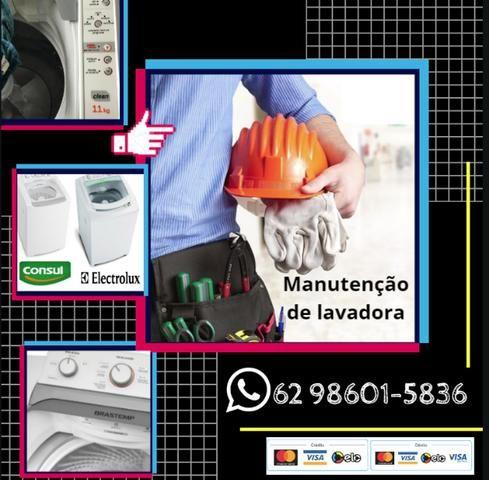 Manutenção em Máquina de Lavar - Foto 3
