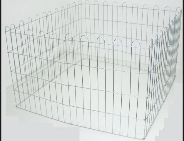 Cercado Pet Para Cachorros Cães Coelhos Gatos 10 Lados Altura 60 cm Cromado - Foto 5
