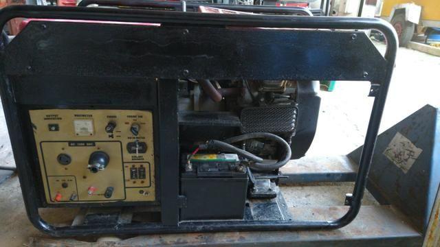 Gerador 10kva 220v monofasico gasolina - Foto 3