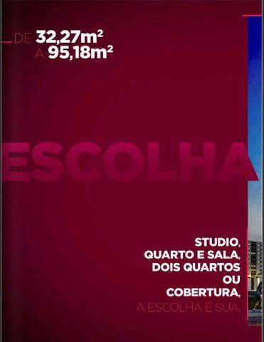 Lançamento na Ponta Verde. Studio, Quarto/Sala, 02 Quartos e 03 Quartos - Foto 2