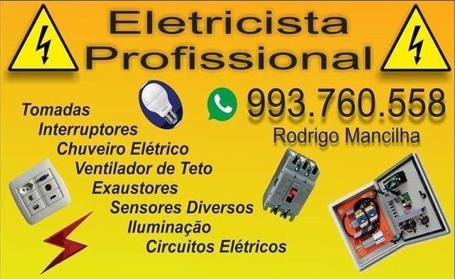 Eletricista e pequenos reparos chama no whatts