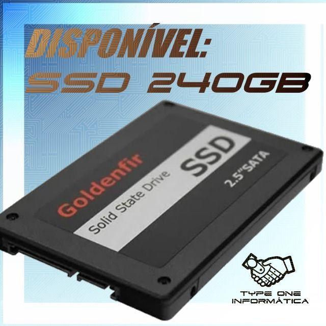 SSD 240GB Goldenfir - Garantia 3 meses - 10x Faster