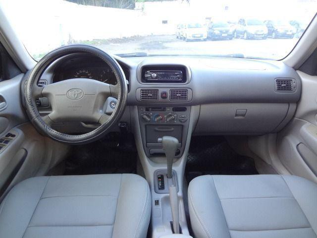 Toyota corolla xei 1.8 automático preto completo com gnv - Foto 4