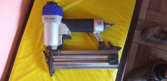 Grampeadora pneumática pinadeira - Foto 4