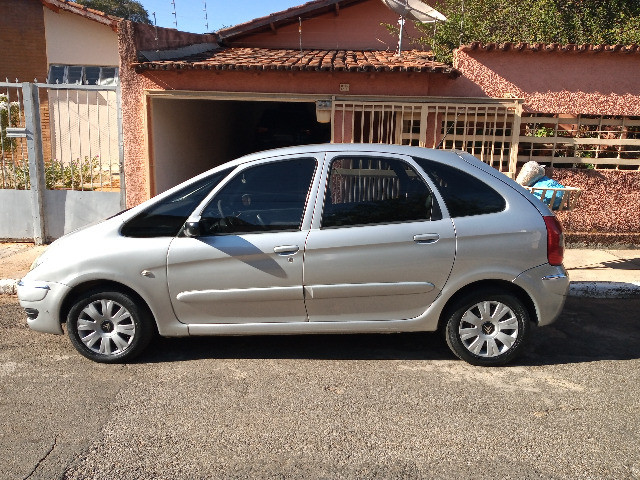 Picasso GLX 2.0 gasolina 2008/08 prata automatica couro completa