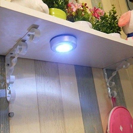 Lampada Led sem fio p armários, carro, decoração - Foto 4
