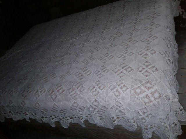 Vendo essa Cocha de cama de crochê  - Foto 2