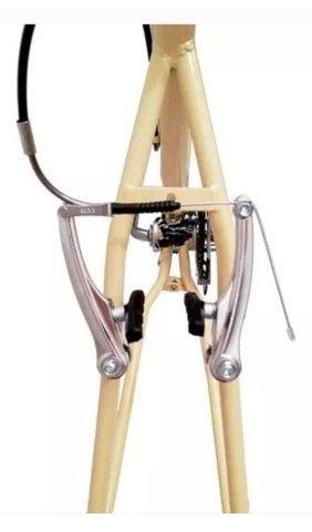 Bicicleta feminina aro 26, retrô nova com 18 marchas - Foto 3