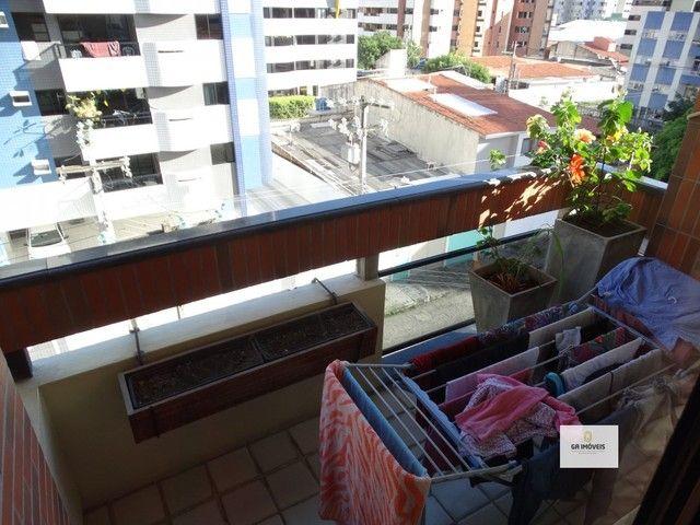 Apt 154 m², 2 quadra da praia da Jatiúca 3 quartos2 suítes varanda em todos os quartos só  - Foto 2