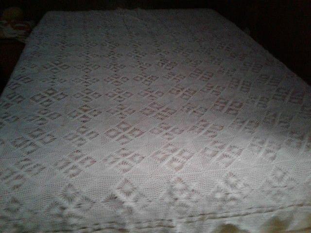 Vendo essa Cocha de cama de crochê  - Foto 4
