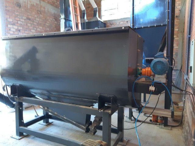 Misturador de Ração  INOX ou Aço Carbono 500kg   1000kg     1500kg e 2000kg