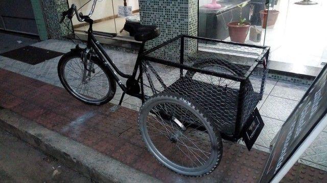 Vendo bicicleta triciclo cargueira - Foto 3