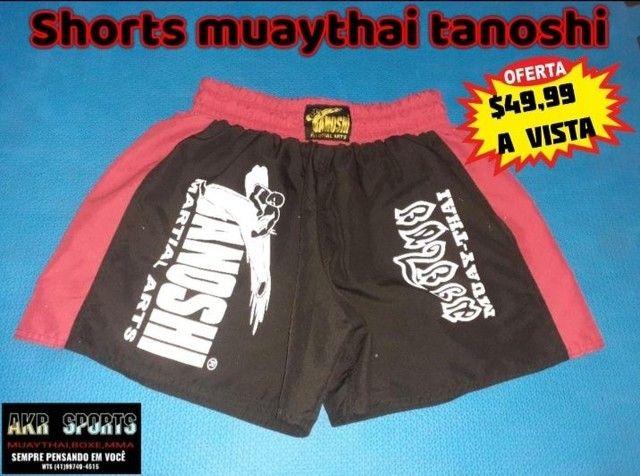 Shorts muaythai TANOSHI tamanho M