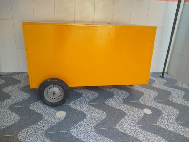 Vendo tenda 3× 3 E carrinho de Lanche - Foto 2