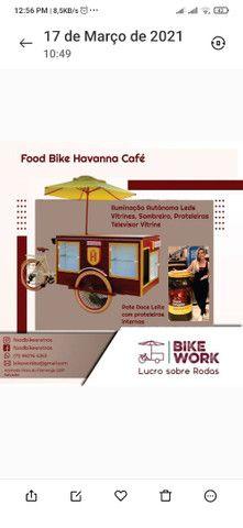 Fabricamos carrinhos gourmet food  bike projetos especiais - Foto 6
