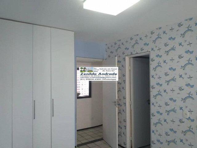 AL139 Apartamento 4 Quartos Suítes, Varanda, Dependência, 6 Wc, 3 Vagas, 250m², Boa Viagem - Foto 6