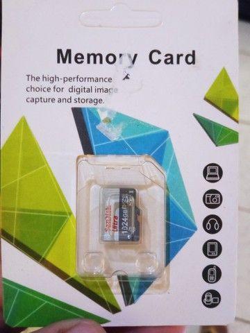 Cartão de memória 1024 gigas