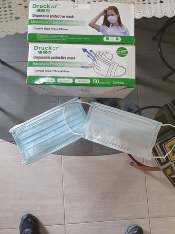 Caixa de Máscara R$ 35,00 50un
