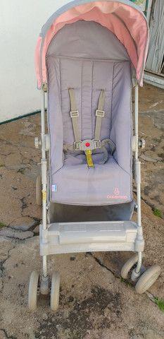 Carrinho de bebê menina Galzerano  - Foto 3