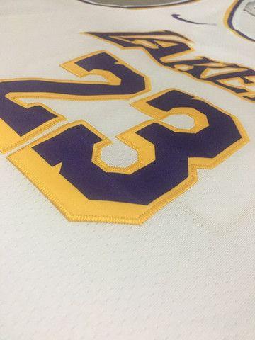 Camisa Regata Basquete Lakers - Foto 2