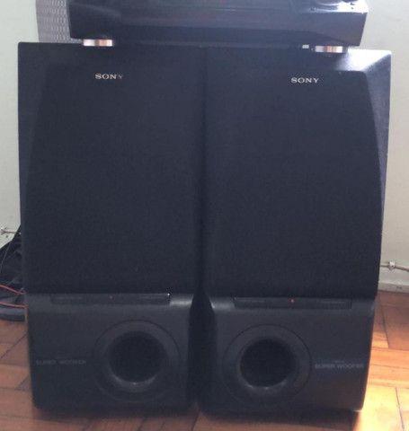 caixa de som sony super woofer lbtn455