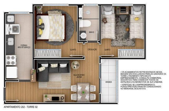 Venha morar no melhor do passaré com lazer completo 2 quartos e elevador. - Foto 8