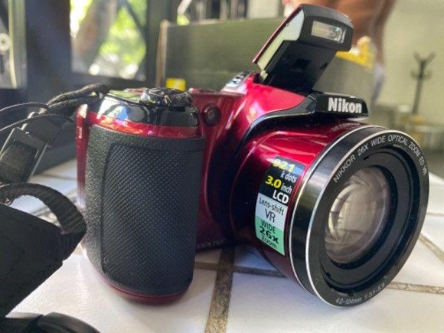 Câmera Nikon coolpix L810 seminova  - Foto 6
