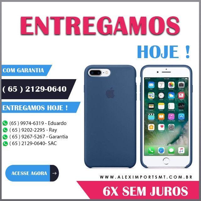 Capinha Case Capa iPhone 8Plus/7Plus Cor Azul Marinho Barata